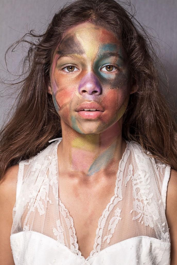 regenboog-makeup